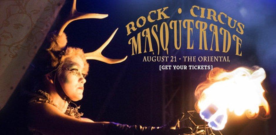 Rock Circus Masquerade